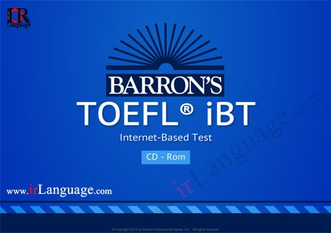 Barrons Toefl Ibt 14th Edition Book
